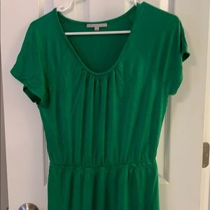 GAP t shirt dress with cinched waist